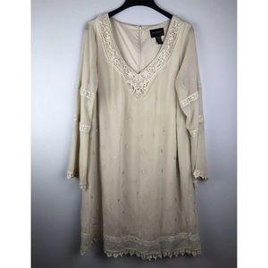 Torrid Orphan Black Helena Embroidered Dress VNeck